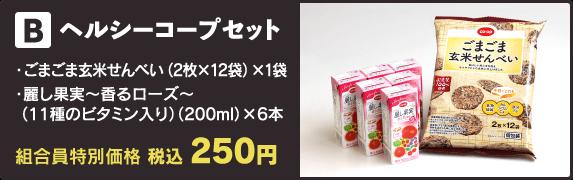 【B】ヘルシーコープセット