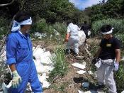 海岸清掃やボランティア活動